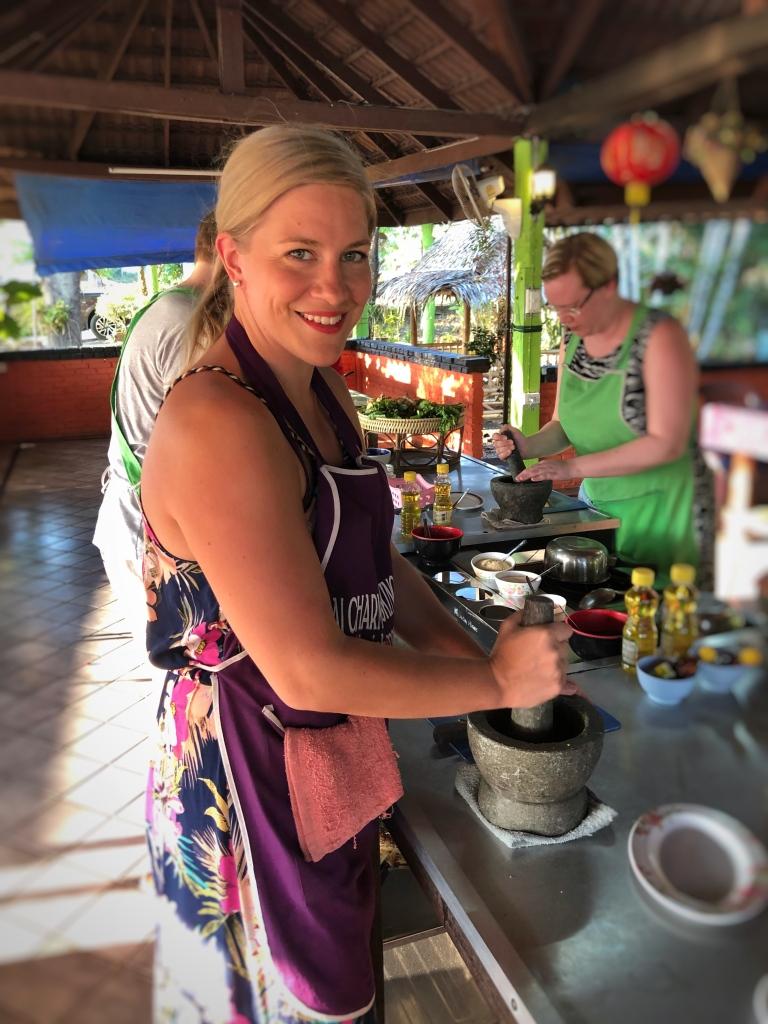 Thaimaalainen ruokakurssi
